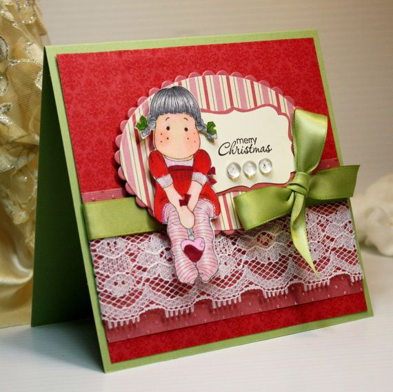 merry christmas  magnolia stamps  christmas cards