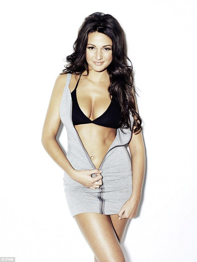 She's hit the top spot: Michelle Keegan has been voted FHM's Sexiest Woman In The World 20...