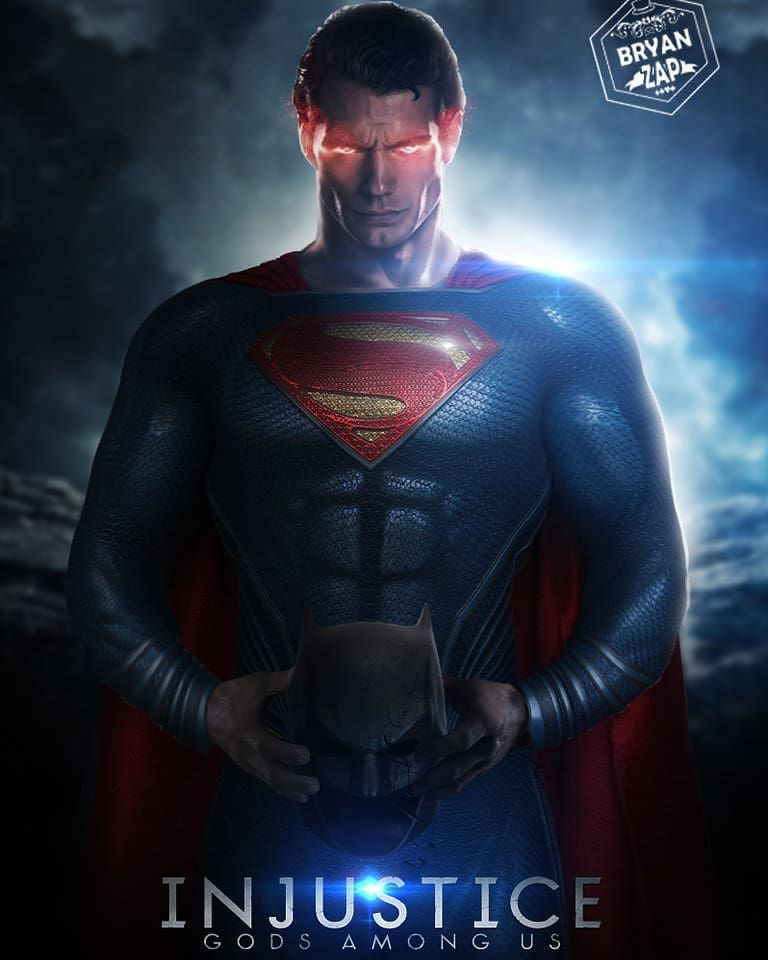 Man Of Steel Superman On Instagram Injusticegodsamongus Superman Man Of Steel Batman Justiceleague Art By Bry Superman Wallpaper Superman Superman Art
