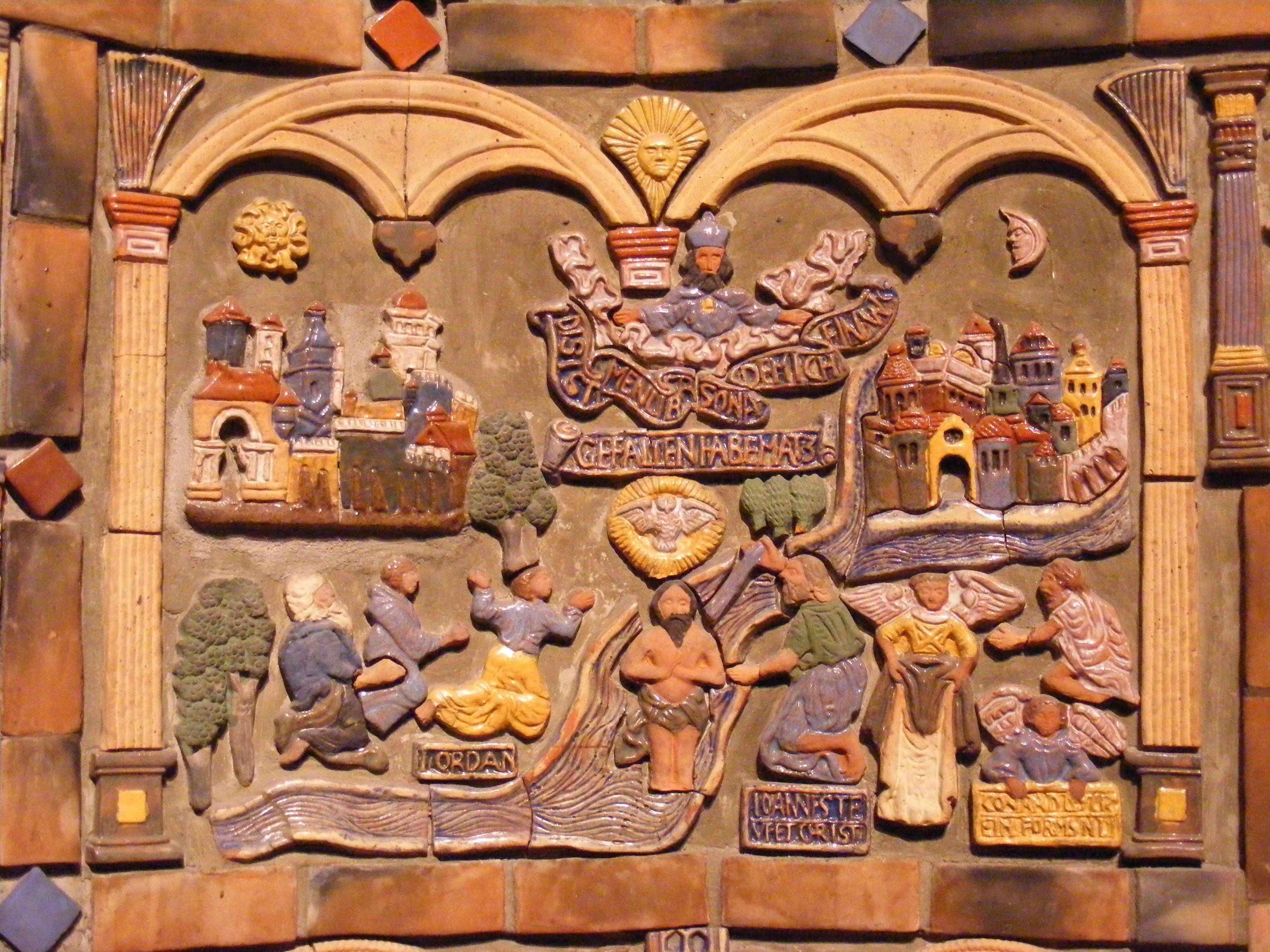 Moravian Tile Works Fonthill Mercer Museum In Doylestown Pa Pottery