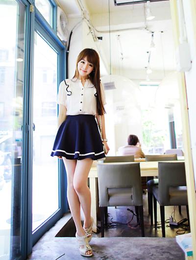 cute skirt cute outfit k fashion �� casual cute
