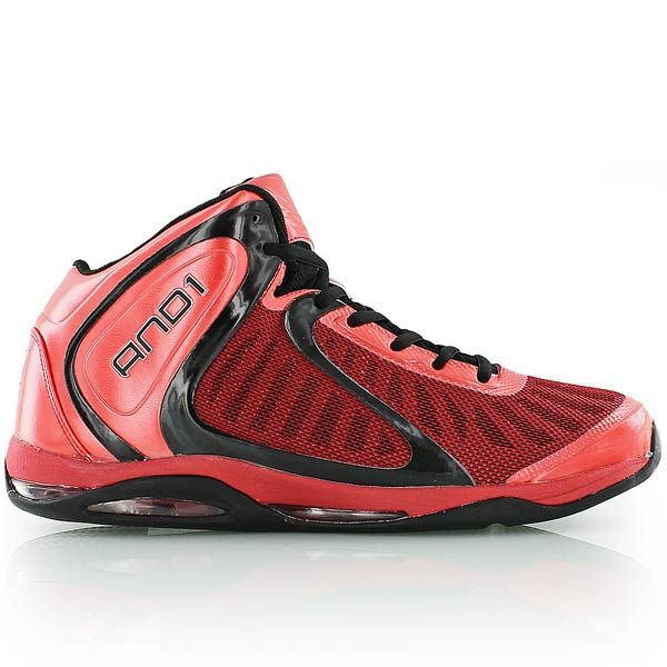 and1 EMPIRE 2.0 MID red/black