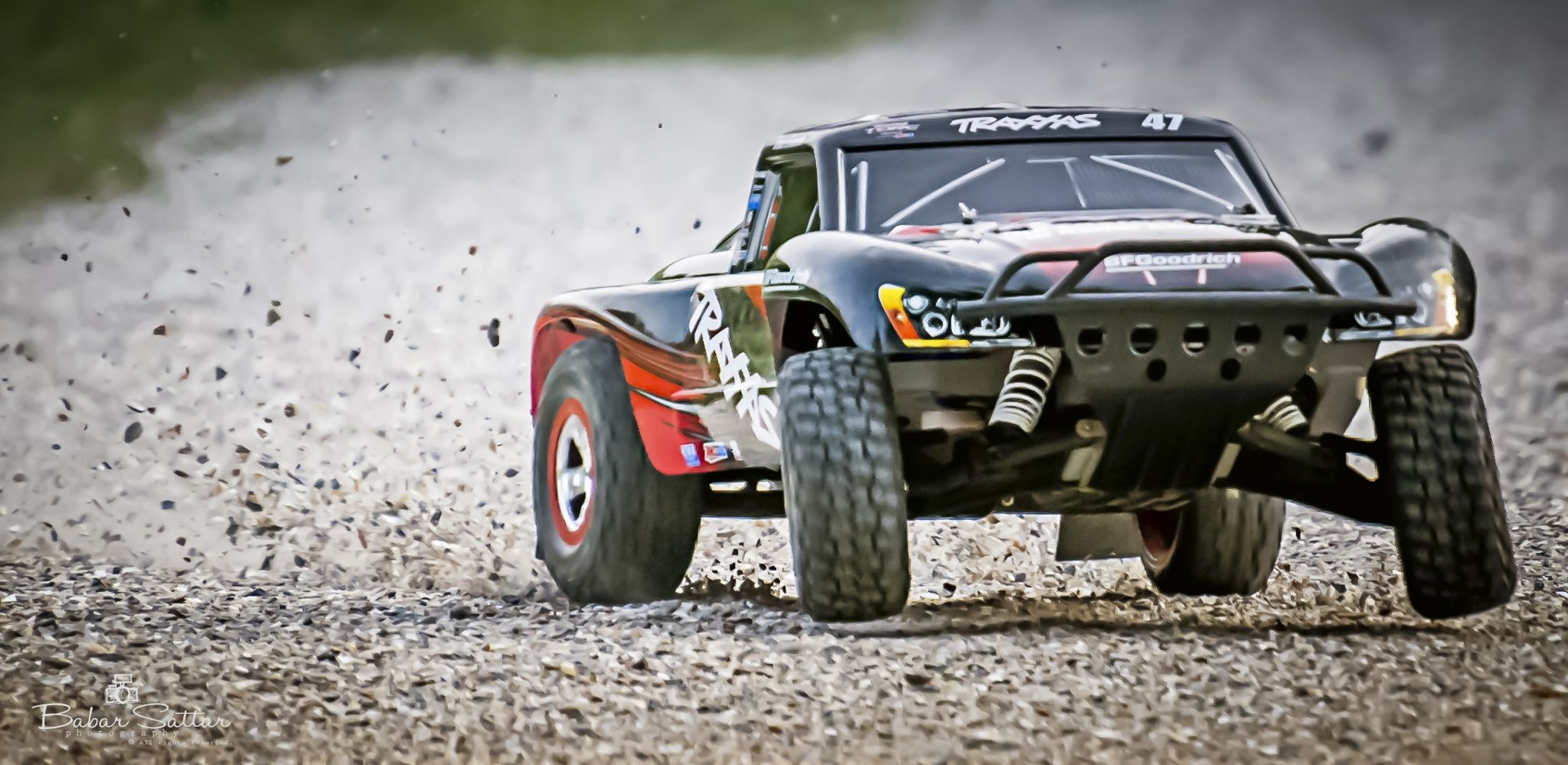 Let s spread some Gravel by Babar Sattar on 500px Traxxas Slash 2wd in an offroad