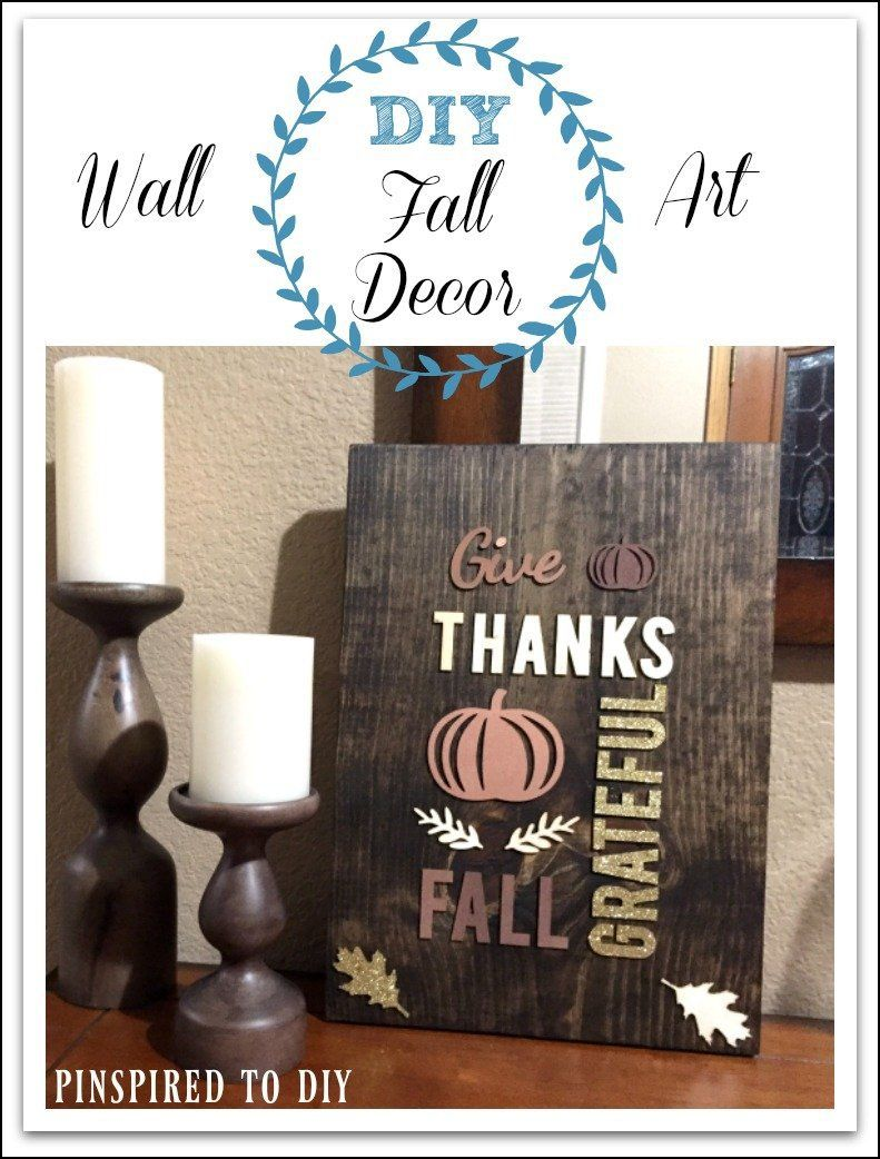 Diy fall decor rustic wood wall art pinterest scrap woods and