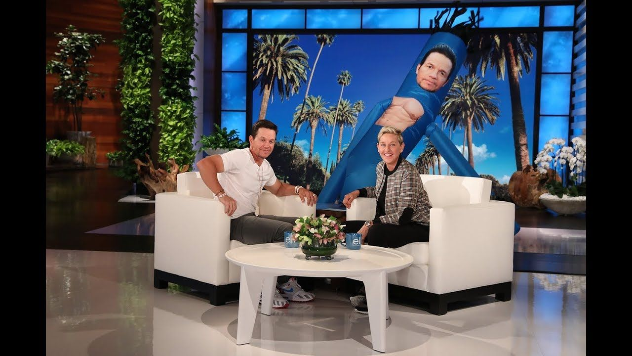 Ellen Helps Mark Wahlberg Get Business for His New Car