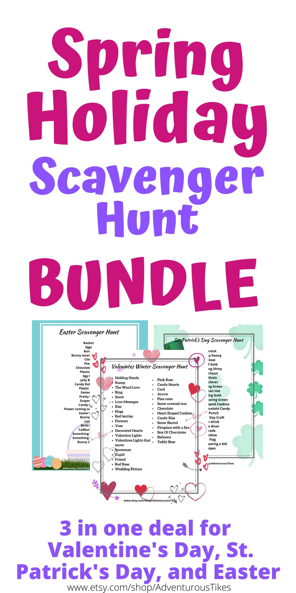 Spring Scavenger Hunt In 2020 Spring Kids Activities Easter Games For Kids Scavenger Hunt For Kids