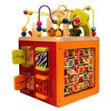 Zany Zoo Wooden Activity Cube I Think This Will Be For