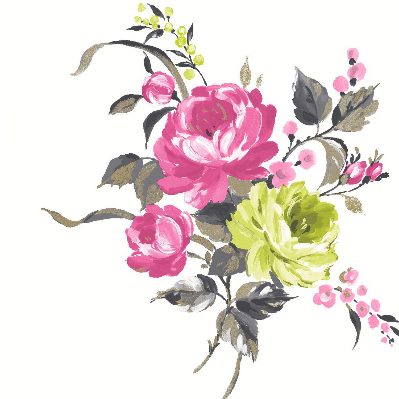 Buy Arabella Fushcia Wallpaper By Holden Decor At The Range