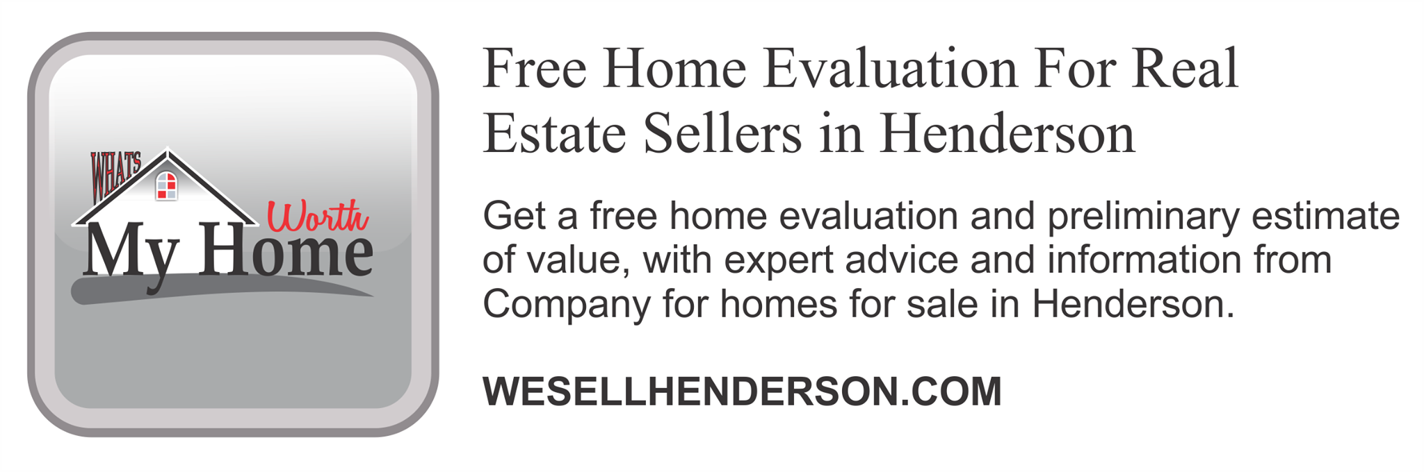 Free Home Valuation Report HttpWwwWesellhendersonComHome
