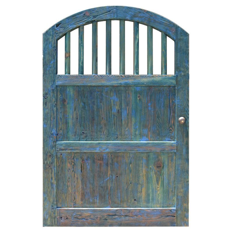 Custom Wood Gate Designs Arch Top Wood Spindle Fence Gates