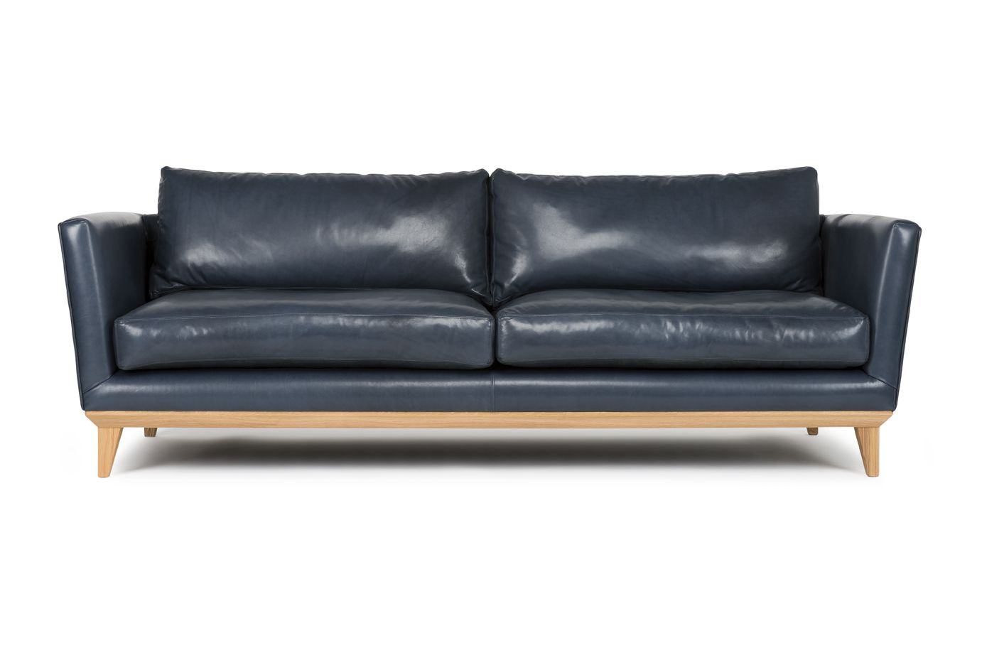 contemporary leather sofas sydney furniture sofa covers ireland curtis by arthur g navy made in
