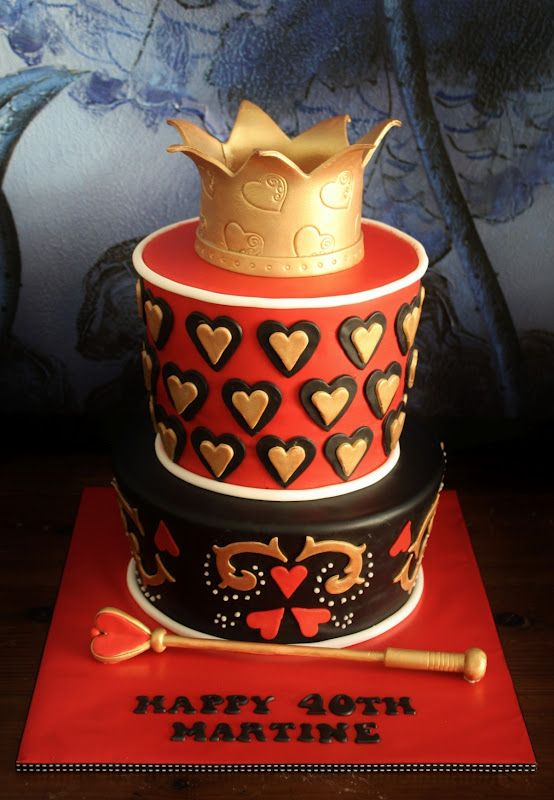 king queen of hearts cake Google Search Awesome Cakes