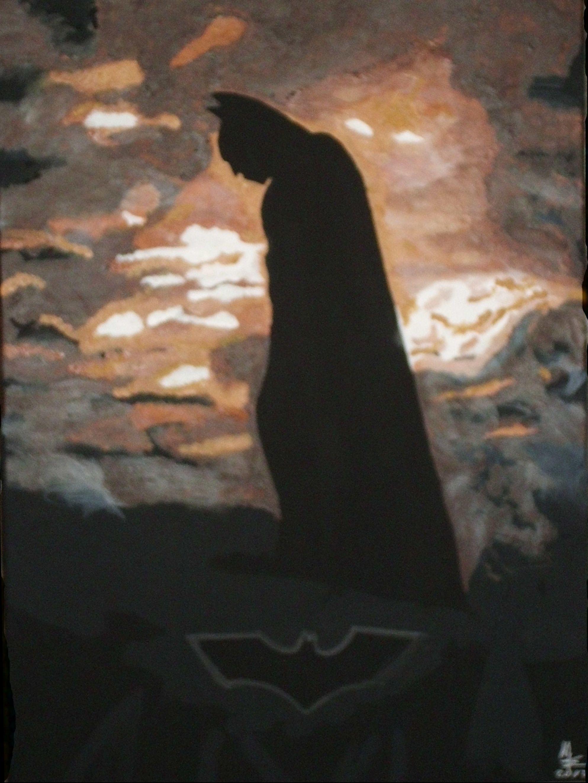 BATMAN by MW Art Marion Waschk weitere Kunstwerke on metal-jay