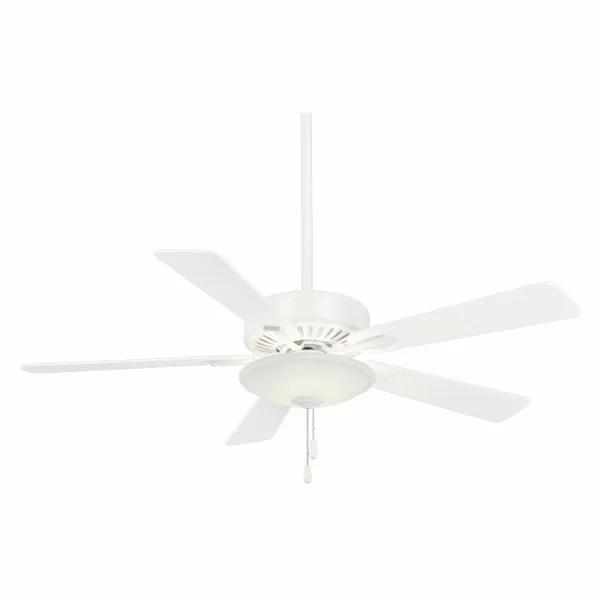 52 Contractor 5 Blade Led Ceiling Fan In 2020 Ceiling Fan 52