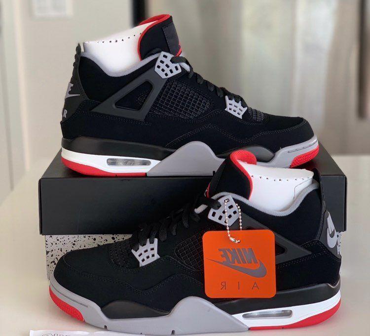 Jordan retro 4 breds Size:10.5 Brand