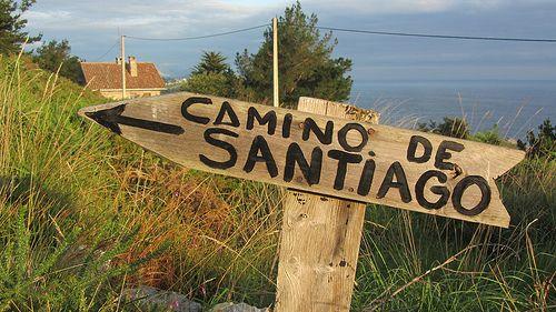 En El Camino Del Norte Camino De Santiago Pilgrimage Santiago