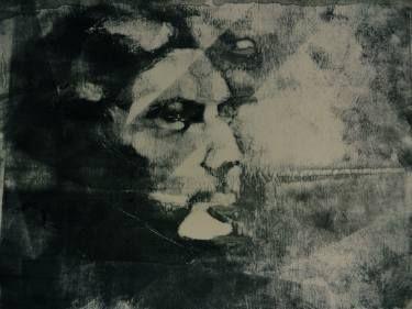 "Saatchi Art Artist Danielle LaCasse; Printmaking, ""Ipek (ghost) - Monotype Sold"" #art"