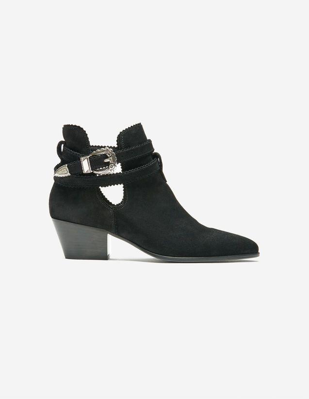 Aura Ankle Boots - Summer Pre-Collection - Sandro Paris
