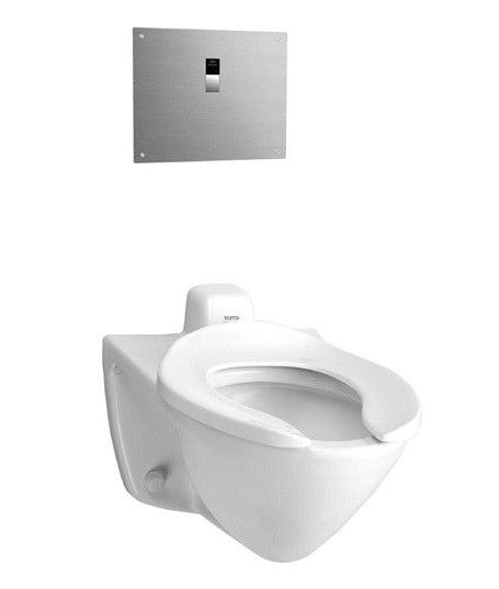 selection toto ct708ev03 commercial wallmounted toilet with 11 - Wall Mount Toilet