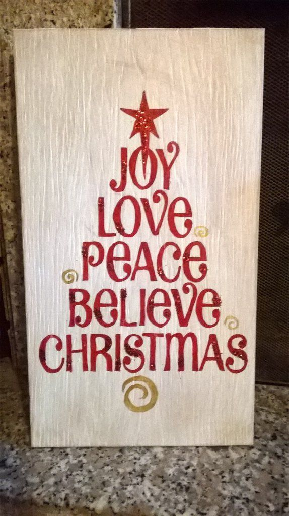 Immagini Natalizie Con Scritte.Pannello Natale Con Scritte A Forma Di Albero Natale
