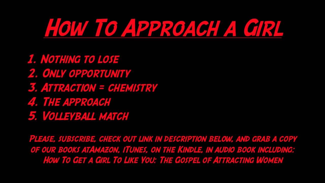 Tips of how to approach a girl