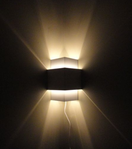 Plug In Corner Lamp Wall Light Sconce Ebay Battery Wall Lights Plug In Wall Lamp Wall Lights