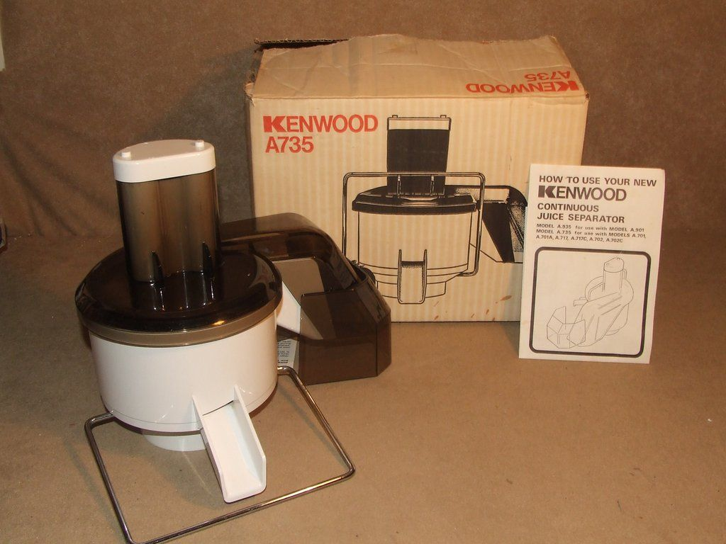 Vintage Kenwood Continuous Juice