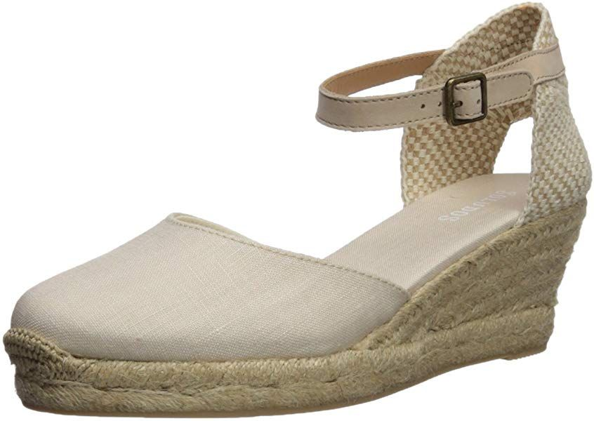 1640760de6a8e Amazon.com | Soludos Women's Closed-Toe midwedge (70mm) Espadrille ...