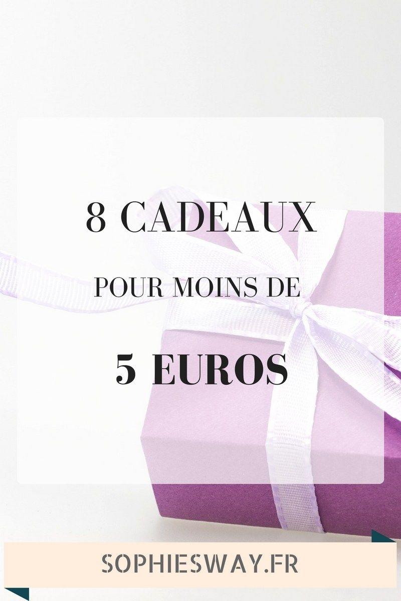 Cadeau Noel 5 Euros 8 idées de cadeaux à moins de 5€   Sophie's Way   Blog lifestyle
