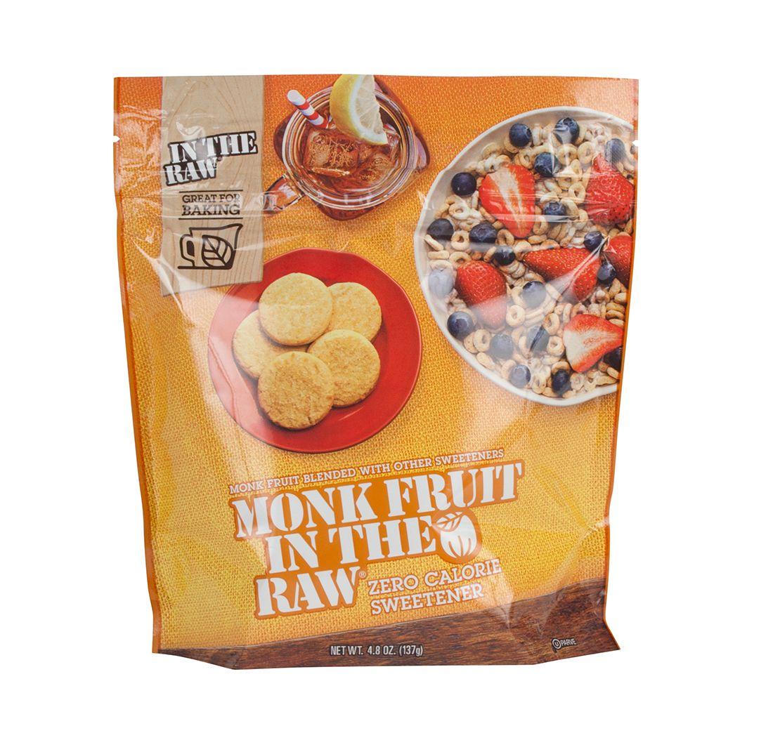Monk fruit sweetener zero calorie 48oz sugar in