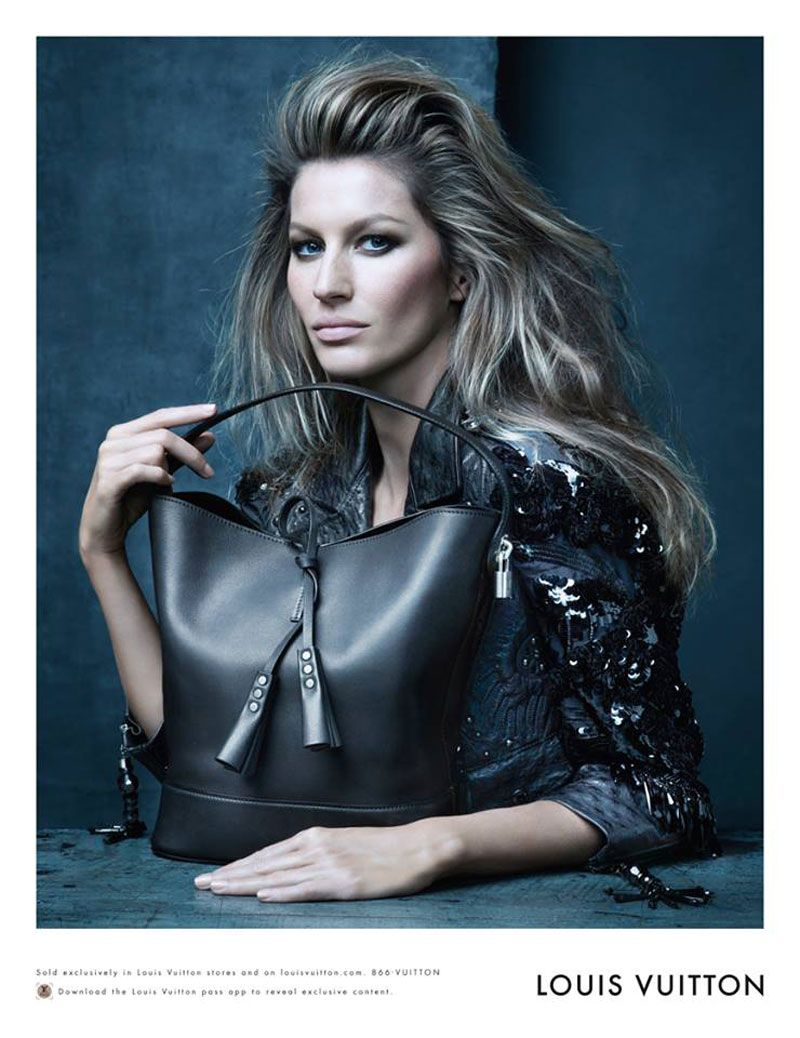 Gisele Bündchen for Louis Vuitton Spring Summer 2014 by Steven Meisel | FashionMention