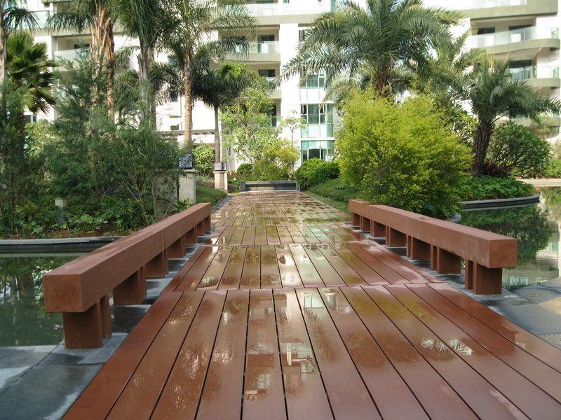 Outdoor Engineered Wood Porch Flooring Materials Export Dubai