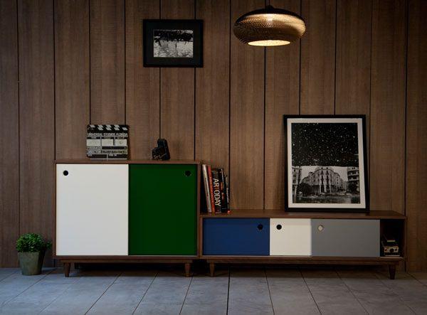 Rangement Telfaz et Reyka, design Meghedi Simonian pour #KannDesign - #matea