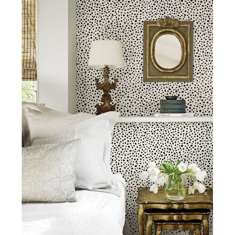 Mckinnon Speckle Paintable Peel And Stick Wallpaper Panel In 2021 Home Decor Bedroom Interior Peel And Stick Wallpaper