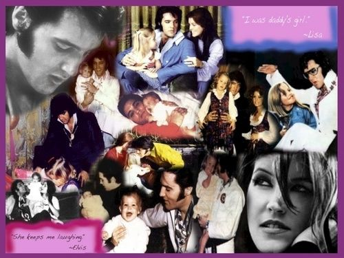 Lisa & Elvis - Elvis Aaron Presley and Lisa Marie Presley Wallpaper (25398384) - Fanpop