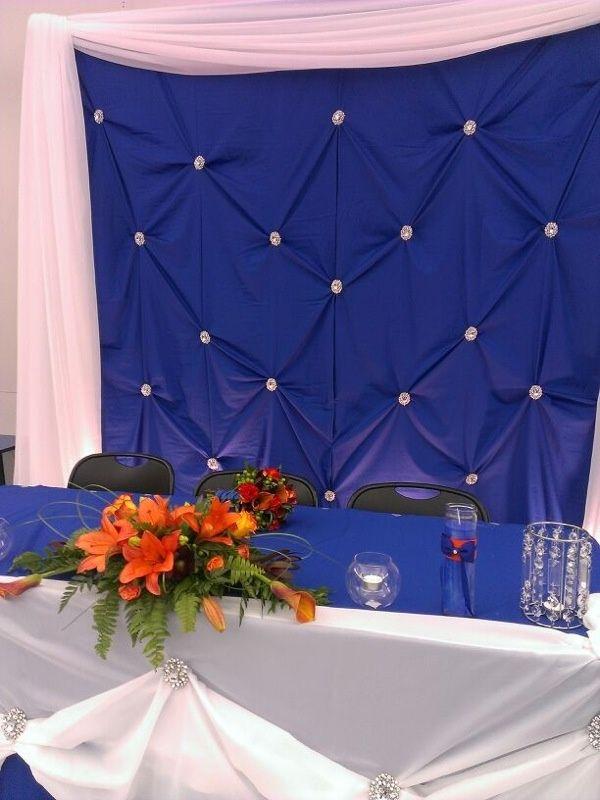royal blue and orange wedding - Yahoo Image Search Results | wedding ...