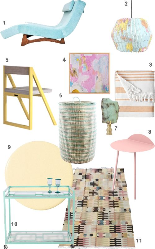 pastel furniture home accessories decor - Pastel Furniture