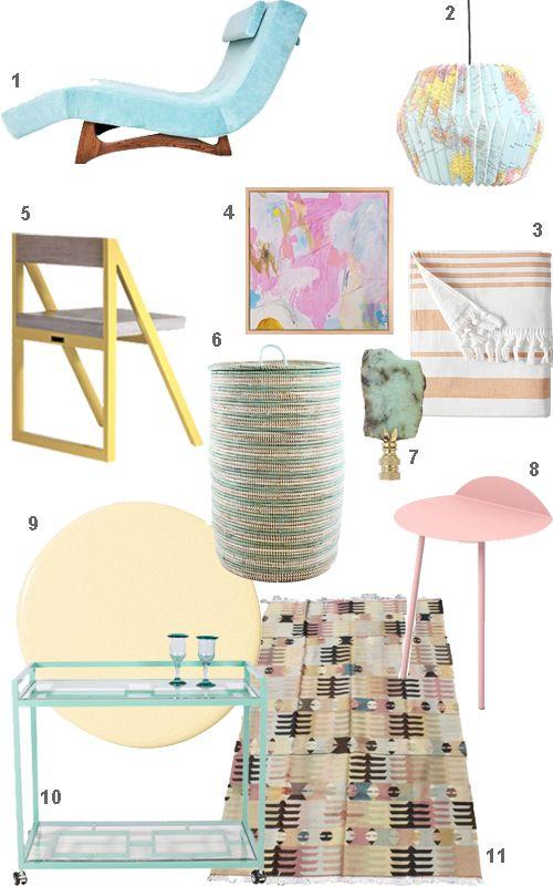 pastel furniture home accessories decor - Pastel Furniture