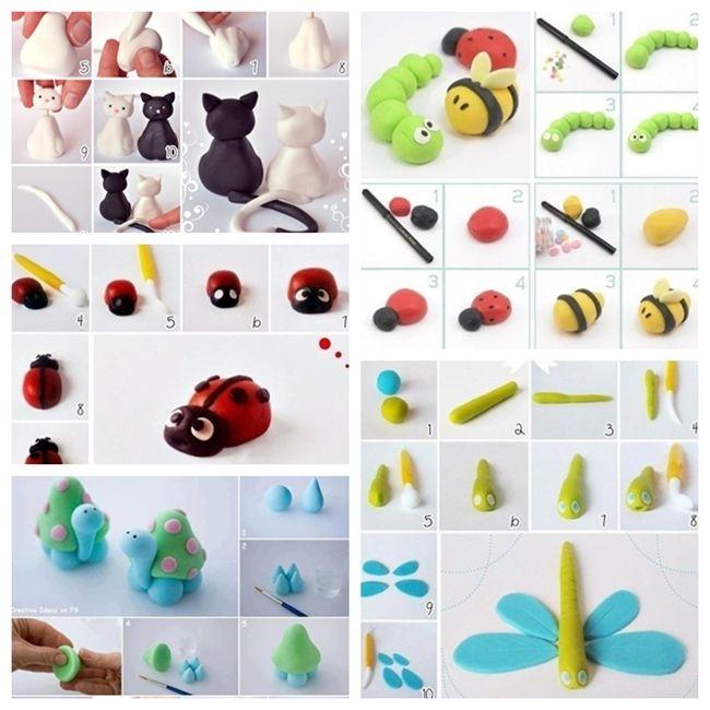 تشكيل عجين الصلصال و العاب اطفال بعجين الصلصال وأجمل الأشكال اصنعيها مع أطفالك Clay Crafts For Kids Clay Crafts Kids Clay