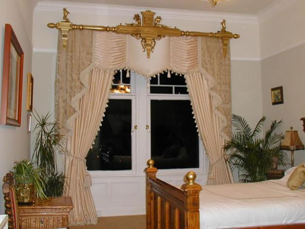 Curtains for bedroom windows with designs - Home Curtain Design Edepremcom Home Curtain Design