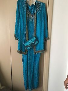 Mother of The Bride Dress Sz 18 with Shoes Sz10 and Purse | eBay