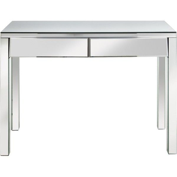 New Monte Carlo Ready Embled 2 Drawer Mirrored Dressing Table 260 Aud Liked On Polyvore Featuring Home Furniture Tables Accent Gl
