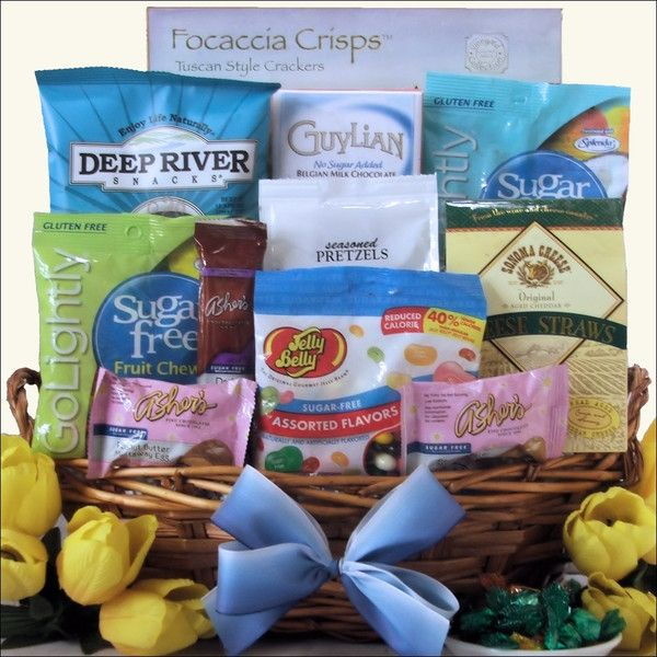 Happy easter sugar free gourmet easter gift basket sugar free happy easter sugar free gourmet easter gift basket negle Choice Image