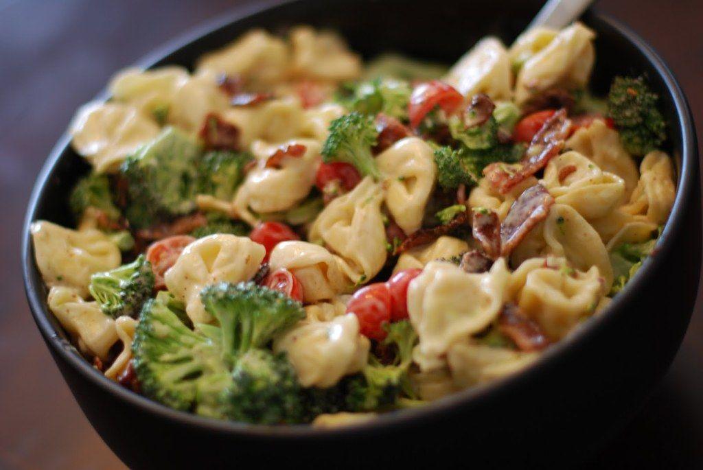 Brocolli tortellini salad
