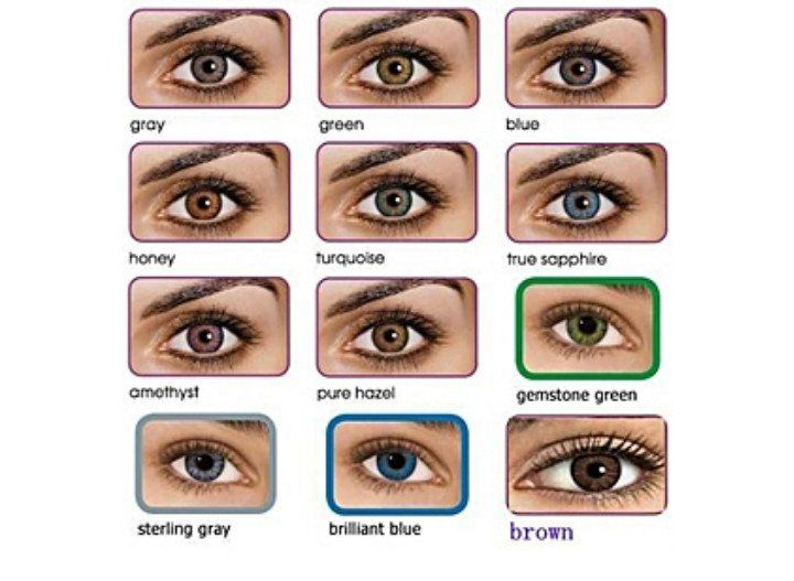 Get you your favorite colours of contact lenses send me