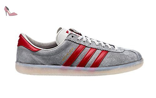 best sneakers 66ebf 148b1 Adidas Hochelaga SPZL, light onix power red ftwr white, 6 - Chaussures