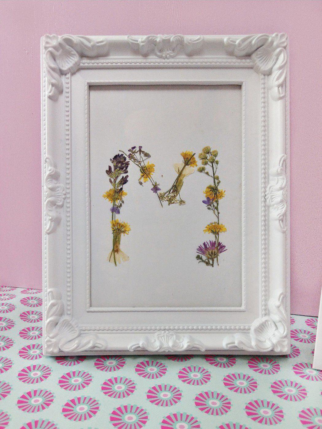 Drei tolle Ideen mit getrockneten Blumen – Deko im Bilderrahmen basteln – kleinliebchen