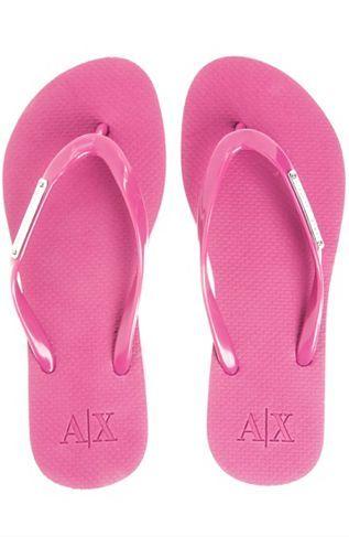 684fa776eda8e9 Logo Plate Flip Flop - Shoes - Accessories - Armani Exchange ...