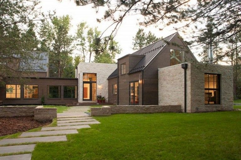 32 Amazing Contemporary Farmhouse Designs Ideas Best For Any Home Designs Farmhousestyle Far Contemporary Farmhouse Modern Farmhouse Design Farmhouse Design