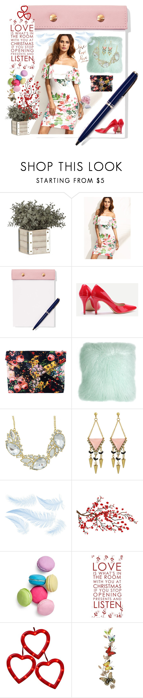 """""""Valentine Day 🙈♥️"""" by donnyprabowo ❤ liked on Polyvore featuring StudioSarah, Pillow Decor, Brewster Home Fashions, Two's Company and Home Decorators Collection"""